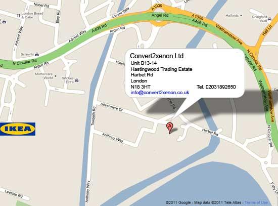 Convert2xenon Ltd Location on Google Maps