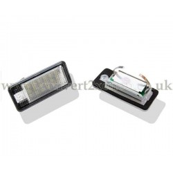 Audi Q7 (2007-2009) LED License Number Plate Upgrade Unit