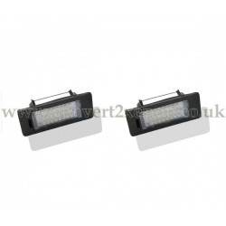 Audi TT (2008-) LED License Number Plate Upgrade Unit