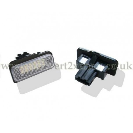 Mercedes Benz C Class W203 LED License Number Plate Upgrade Unit