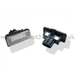 Mercedes Benz CLS Class W219 LED License Number Plate Upgrade Unit