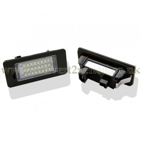 BMW 3 series E92 LED License Number Plate Upgrade Unit