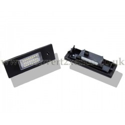 BMW 1 series E87 LED License Number Plate Upgrade Unit