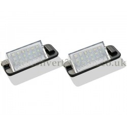 BMW 3 series E36 LED License Number Plate Upgrade Unit