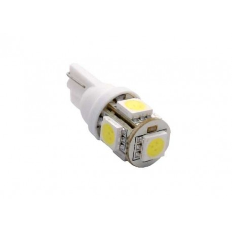 5xSMD High Power LED Bulb LED 501/W5W/T10
