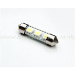 3xSMD 36mm Festoon High Power LED Bulb