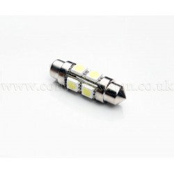 8xSMD 36mm Festoon Four Sided High Power LED Bulb