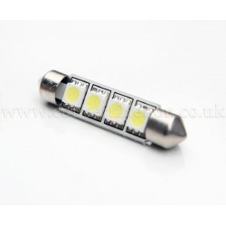 4xSMD 42mm Festoon High Power LED Bulb