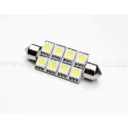 8xSMD 42mm Festoon High Power LED Bulb