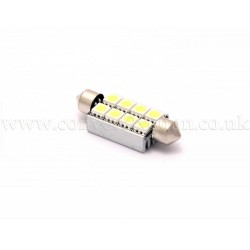 8xSMD 42mm Canbus Festoon High Power LED Bulb